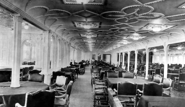 Côtelettes grillées en 1ère, gruaux en 3ème: Les menus réels du Titanic!