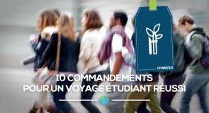 [Conseils] 10 commandements pour un voyage étudiant réussi