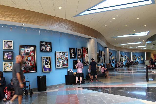 Pop Century Resort art of animation