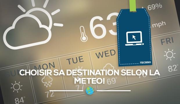 Une carte interactive pour choisir sa destination selon la meteo!