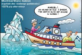 Canada : les billets d'avion 55% plus chers au Québec