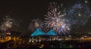 Pont Jacques-Cartier inauguration du premier pont connecté au monde