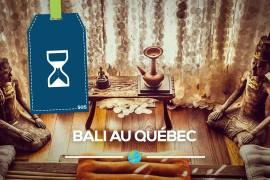 [Entrevue] Bali au Québec!