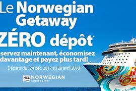 [Sunwing] offre maintenant des forfaits croisières Norwegian Getaway au départ de Montréal