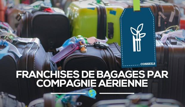 [Ressources] Frais de bagages par compagnie aérienne