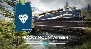 Rocky Mountaineer dans l'Ouest