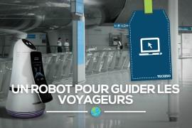 Un robot pour guider les voyageurs et aider le personnel