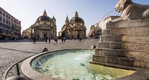 [Rome] baignade interdite dans les fontaines