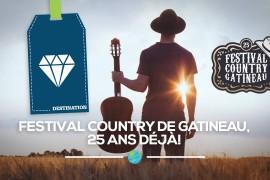Festival Country de Gatineau, 25 ans déjà!