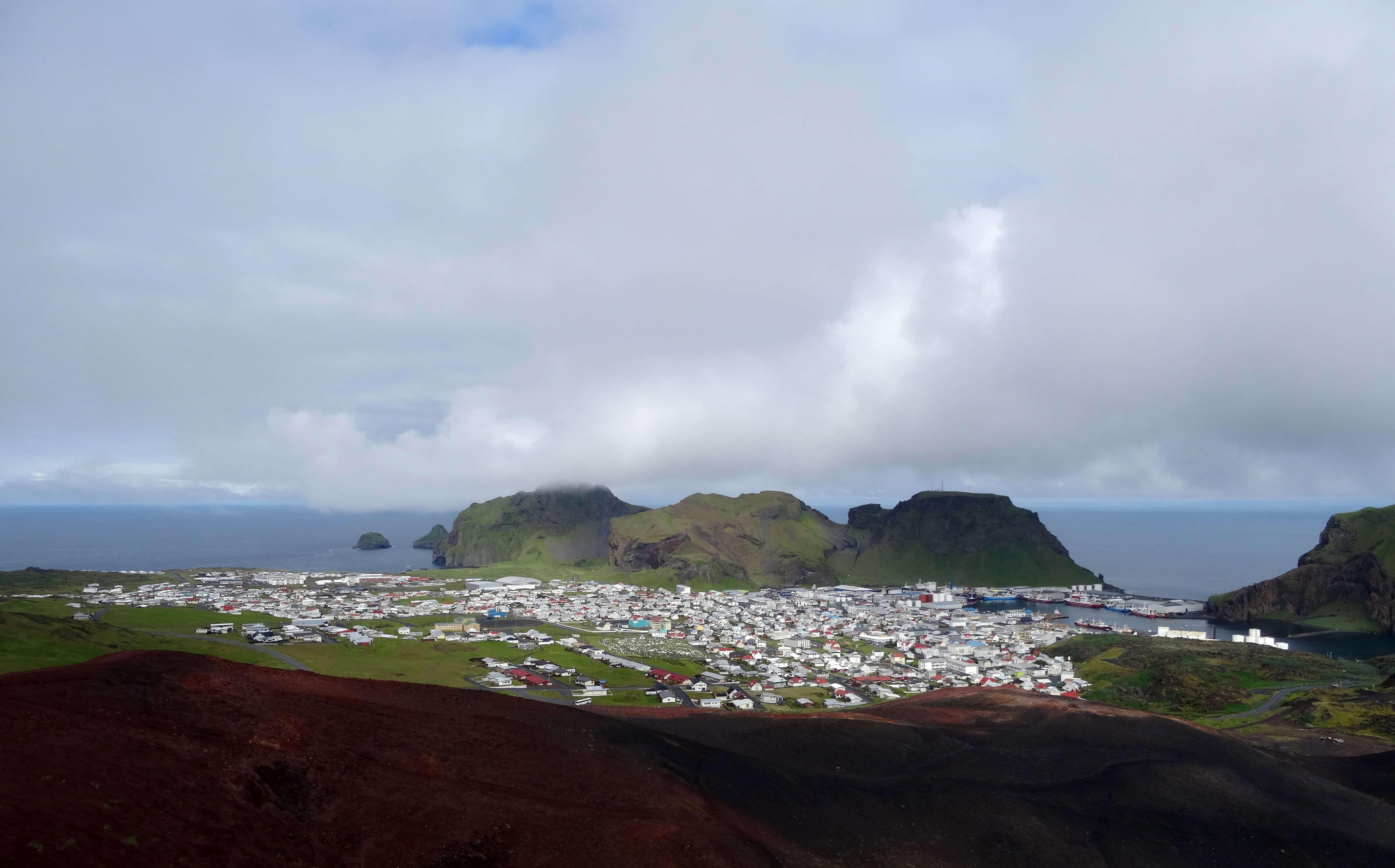 Islande Volcan Eldfell