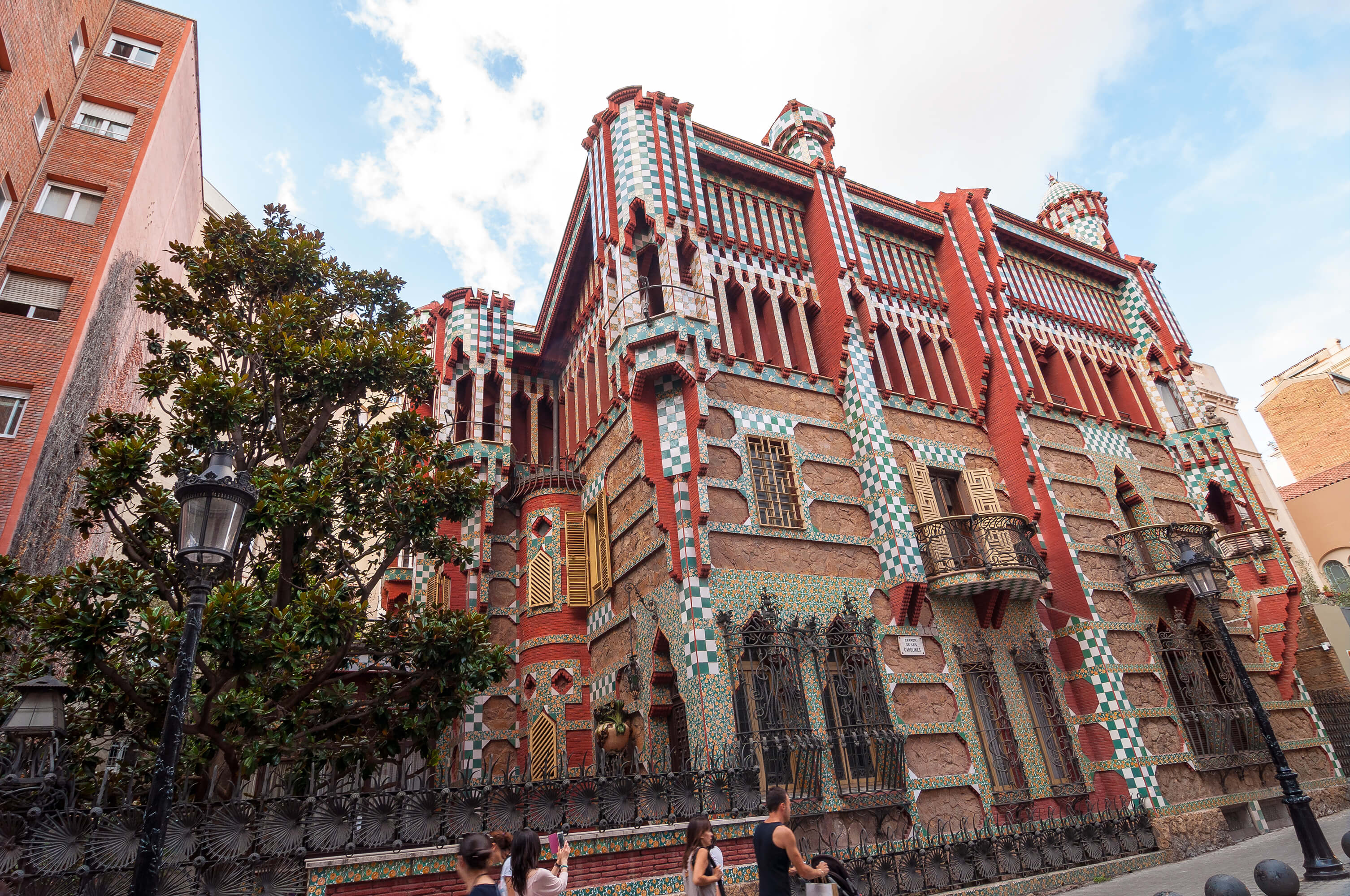 Barcelone casa vicens la premi re maison de gaudi ouvre - La maison barcelona ...