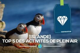 [Islande] Top 5 des activités de plein air