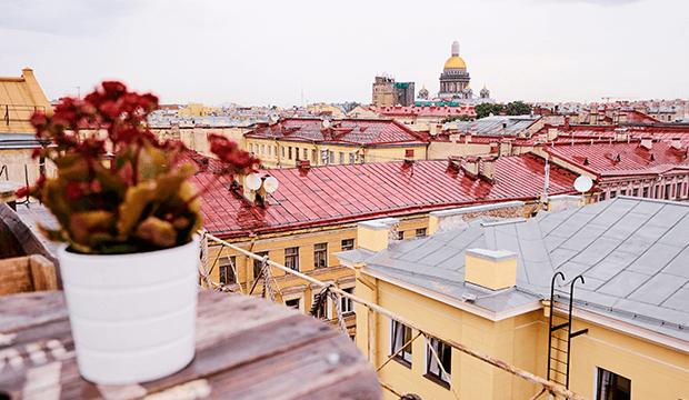 Les toits de Saint-Pétersbourg s'ouvrent aux touristes