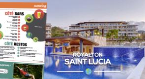 [Fiches Hôtels] Découvrez le Royalton Saint Lucia