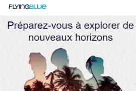 [Air France] modifie son programme de fidélité Flying Blue