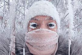 Un thermomètre vient de briser à -62 °C dans le village le plus froid sur Terre