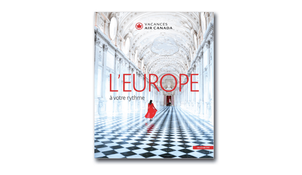 brochure  vacances air canada  u2013 europe 2018