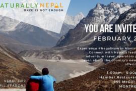 [Événement] #NepalNow: le 22 février 2018 à Montréal