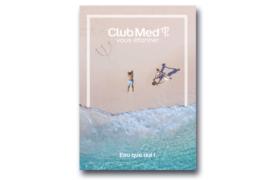 [BROCHURE] Nouvelle brochure Trident Club Med et ses nouveautés «Eau que oui!»