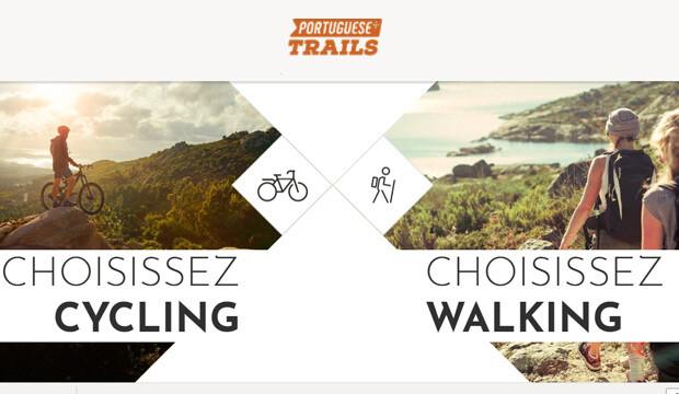 Portugal: un nouveau site pour recenser les pistes cyclables et les randonnées