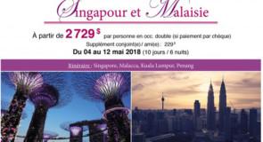 [Éducotour] Singapour et Malaisie