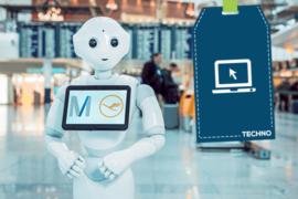 L'aéroport de Munich et Lufthansa commencent les essais du robot humanoïde – Josie Pepper
