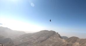 La plus longue tyrolienne du monde ouvre aux Émirats arabes unis!