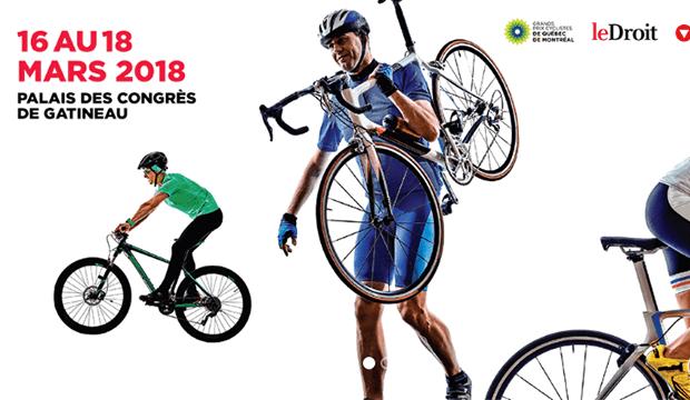 Salon du vélo de Gatineau du 16 au 18 mars