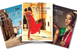 [BROCHURE] Voyages TravelBrands: trois nouvelles brochures présentant des options de voyage uniques.