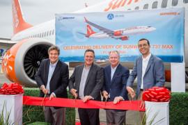 Nouveau Boeing 737 MAX8 de Sunwing: plus d'espace et un port USB pour chaque siège!
