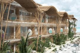 L'hôtel Mystique Blue ouvre ses portes à Isla Holbox au Mexique