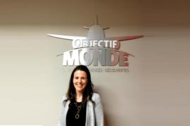 Objectif Monde est fier d'annoncer le recrutement de Mylène Landriault au poste de déléguée aux ventes et relations publiques.