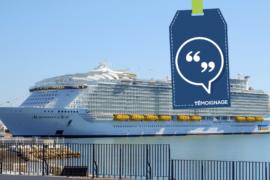 [Témoignage] «Le Symphony of the Seas offre le meilleur spectacle à bord d'un navire de croisière»