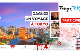 Concours: gagnez un voyage à Tokyo