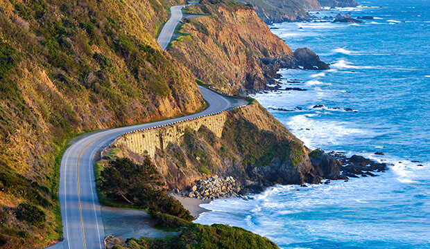 En Californie, la Highway 1 reprend du service.