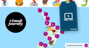 Air New Zealand lance un moteur de recherche avec des «emojis» seulement