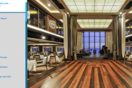 Visite virtuelle du navire NCL Epic