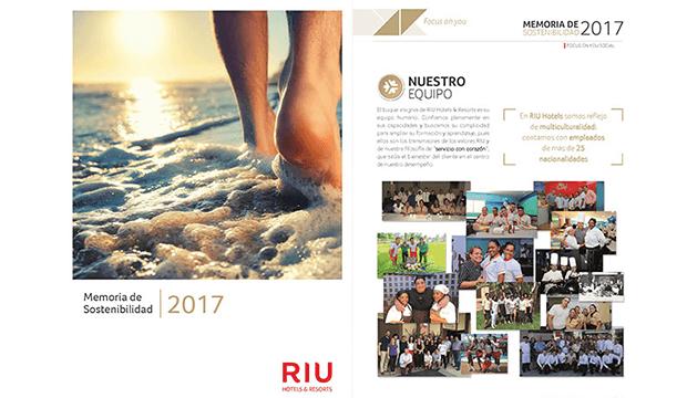RIU Hotels présente ses pratiques de développement durable