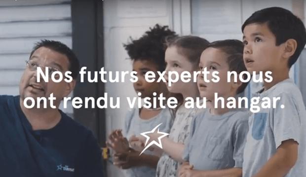 Air Transat tente une nouvelle opération séduction auprès des jeunes enfants: découvrez les vidéos!