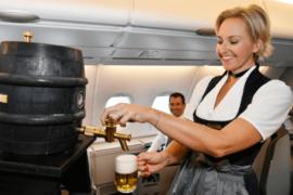Lufthansa met en placedes vols spéciaux pour célébrer l'« Oktoberfest »
