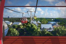 Disney dévoile de nouveaux détails sur son très attendu système de transport: Skyliner