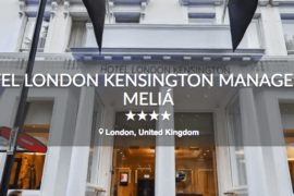 Meliá Hotels International annonce l'ouverture de son nouvel hôtel à Londres