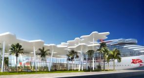 Virgin Voyages dévoile les images de son terminal de croisières à Port Miami