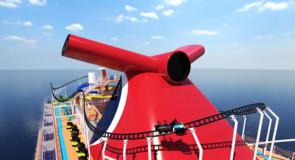 Carnival offrira à ses passagers les toutes premières montagnes russes en mer!