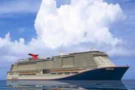 La livraison du navire Mardi Gras de Carnival est reportée à novembre 2020