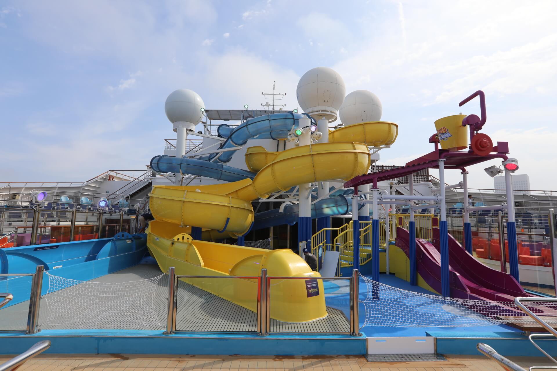carnival freedom parc waterworks