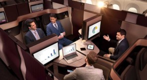 Qatar Airways lance officiellement sa Qsuite sur ses vols montréalais: découvrez les images!