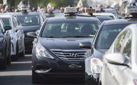 Grève des taxis: une nouvelle manifestation prévue ce vendredi