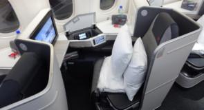 La Classe affaires d'Air Canada serait la meilleure en Amérique du Nord d'après les voyageurs