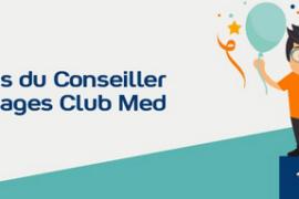 Club Med lance son mois du Conseiller en voyages avec des cadeaux à la clé!